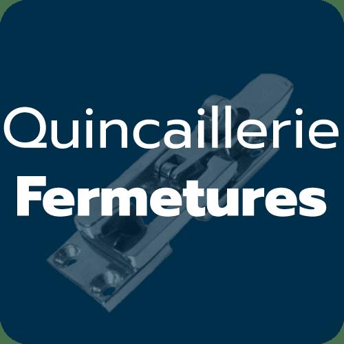 Fermetures  inox / laiton