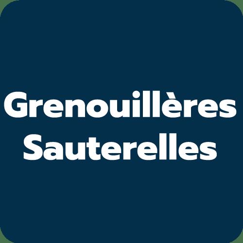 Grenouillères - Sauterelles