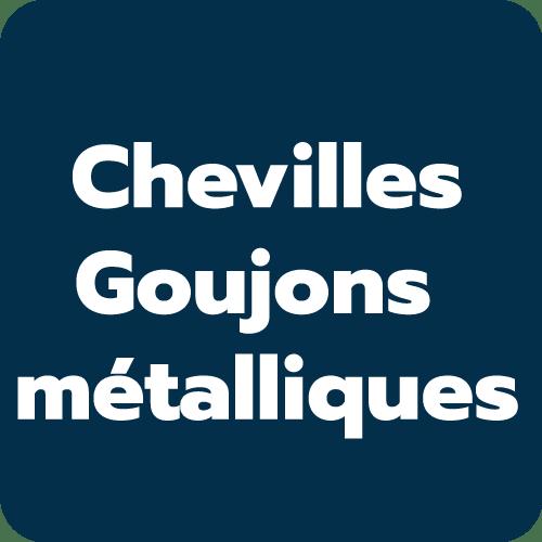 Chevilles et goujons métalliques