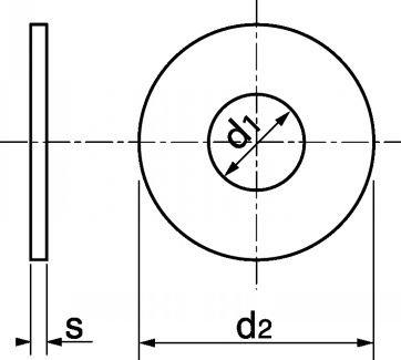 schéma rondelle Inox LU