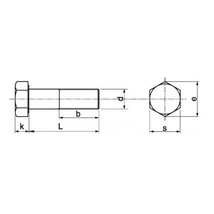 1 Acier Inoxydable v4a à six pans Joint De Culasse Vis DIN 912 a4 m18x90